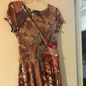 Ralph Lauren Petite wrap dress